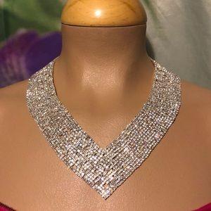 New Natasha V Necklace Stunning Wedding Glitz